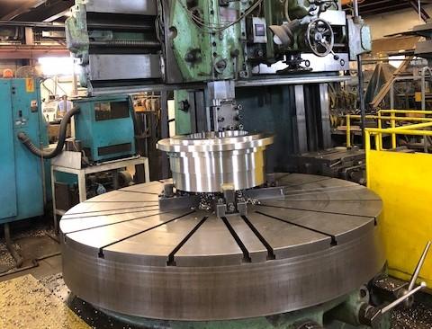 Horizontal Turning Equipment at Machinery Maintenance