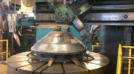 Machining Cone Crush to Correct Size